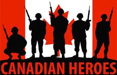 Canadian Heroes Logo