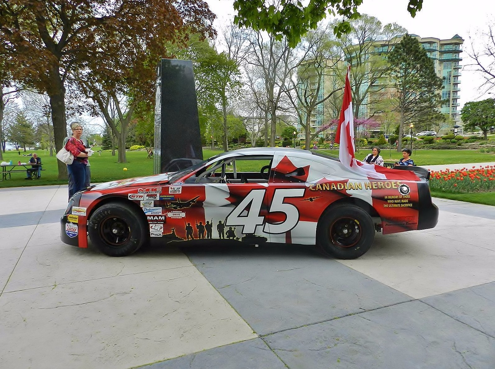 Canadian Heroes Race Car
