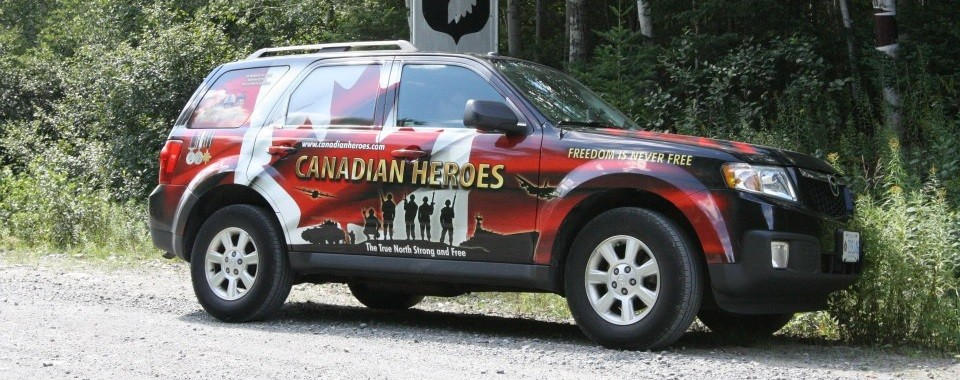 Canadian Heroes Memorial Vehicle #8